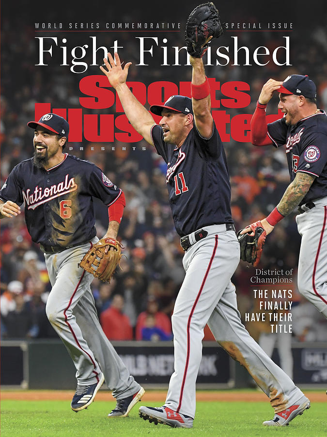 Championship Photograph - Washington Nationals, 2019 World Series Champions Sports Illustrated Cover by Sports Illustrated