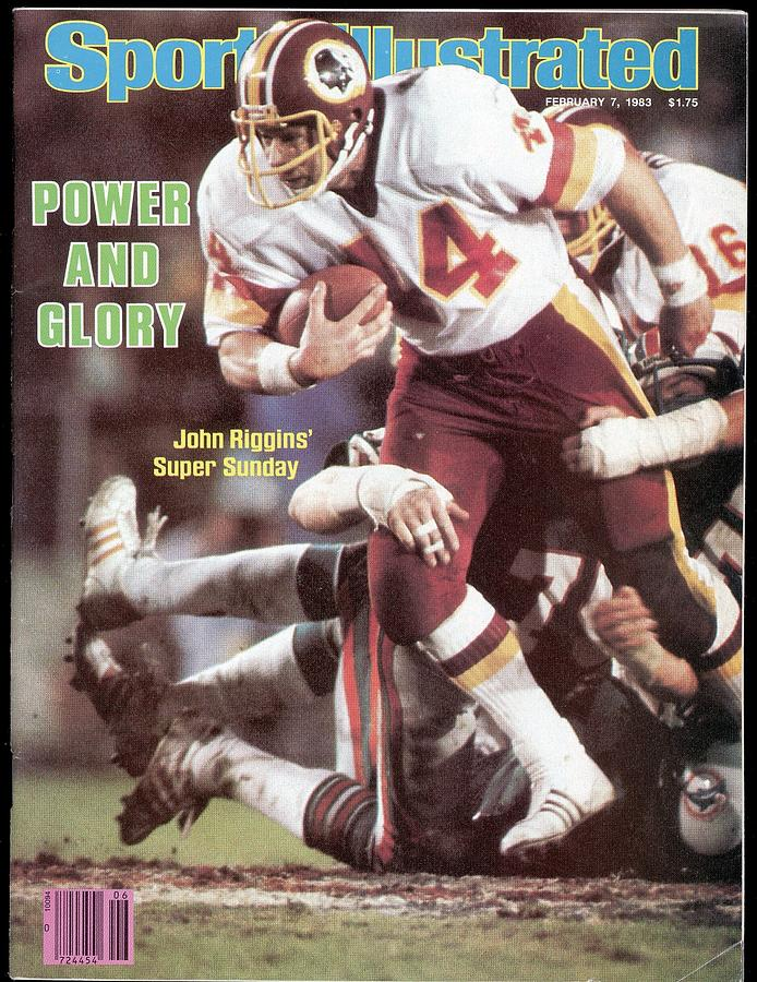 Washington Redskins John Riggins, Super Bowl Xvii Sports Illustrated Cover Photograph by Sports Illustrated