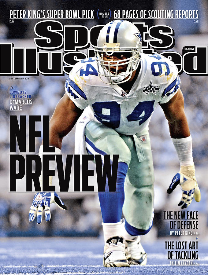 Washington Redskins V Dallas Cowboys Sports Illustrated Cover Photograph by Sports Illustrated