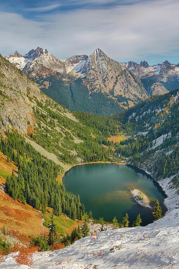 Autumn Photograph - Washington State, Wenatchee National by Jamie and Judy Wild