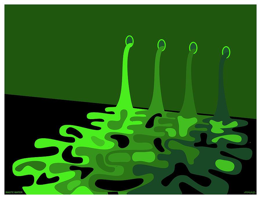 Waste Water by Asbjorn Lonvig