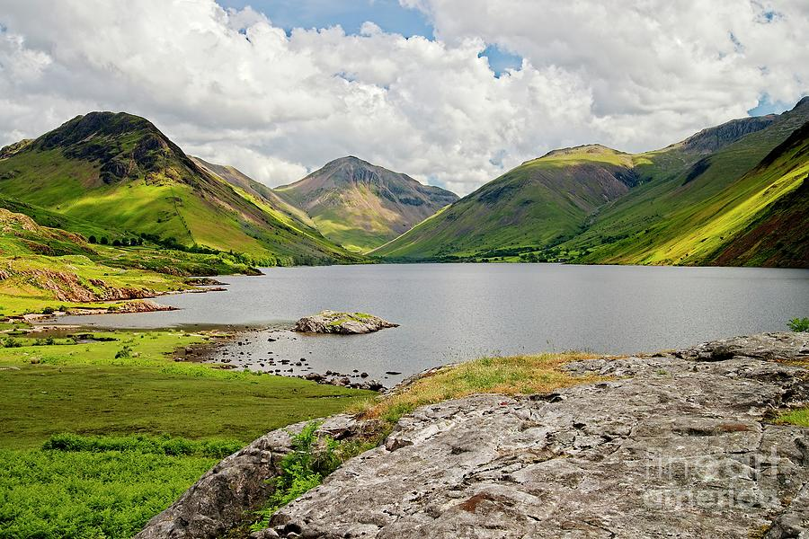 Wastwater and Lake District Fells by Martyn Arnold