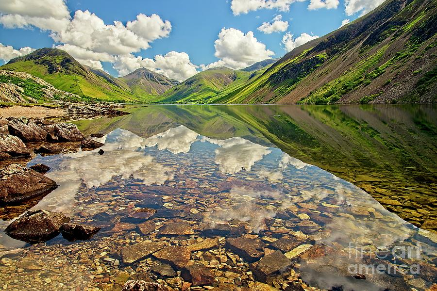 Wastwater Lake District by Martyn Arnold
