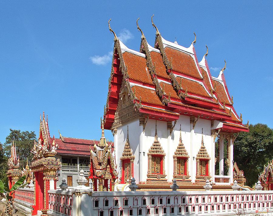 Wat Huai Phai Phra Ubosot and Compound DTHU0096 by Gerry Gantt