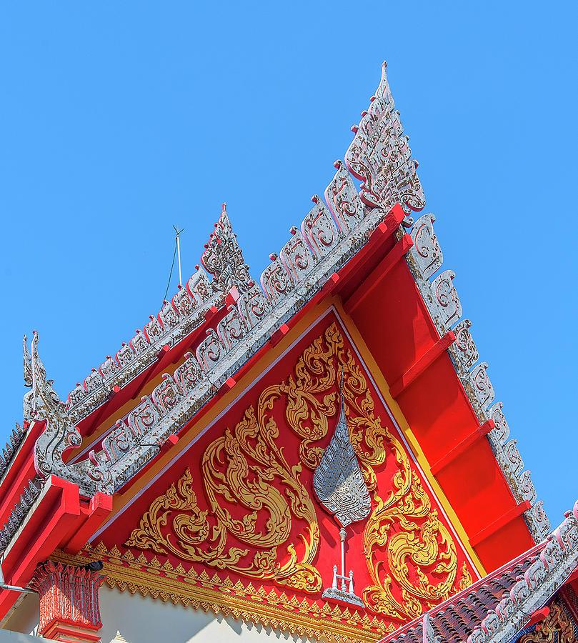 Wat Luang Sumang Khlaram Phra Wihan Gable DTHSSK0026 by Gerry Gantt