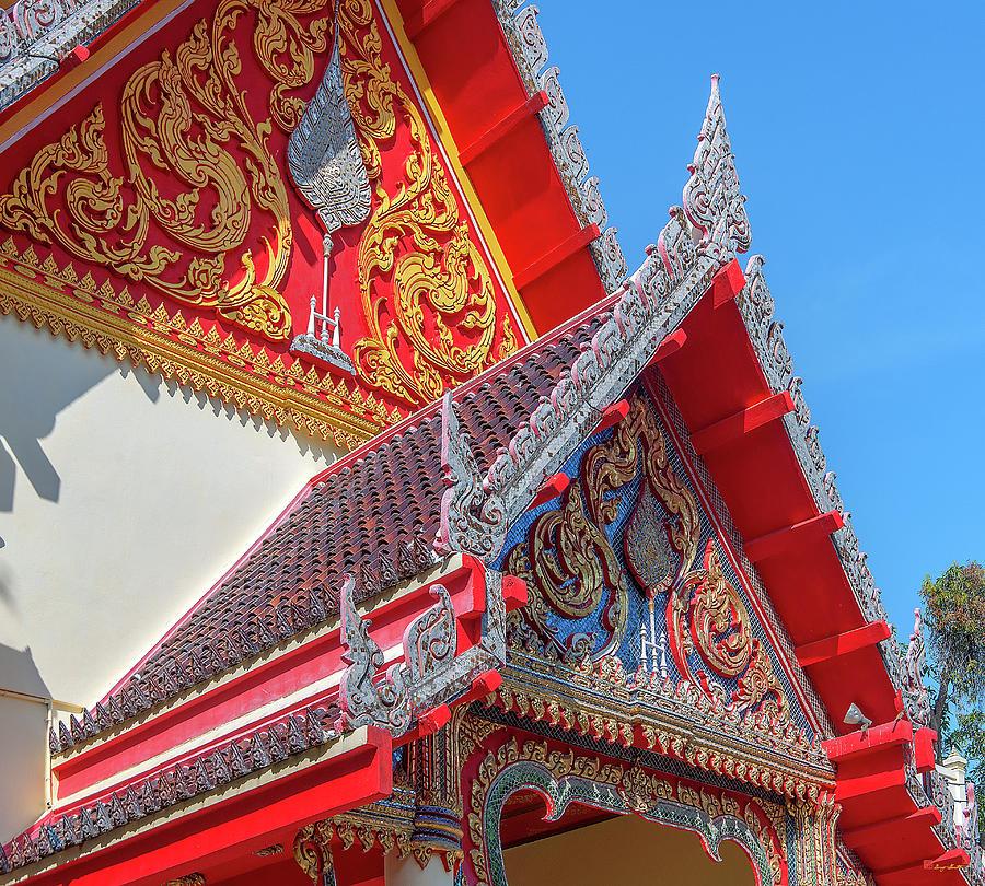 Wat Luang Sumang Khlaram Phra Wihan Gables DTHSSK0025 by Gerry Gantt