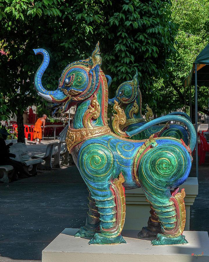 Wat Luang Sumang Khlaram Phra Wihan Guardian DTHSSK0028 by Gerry Gantt