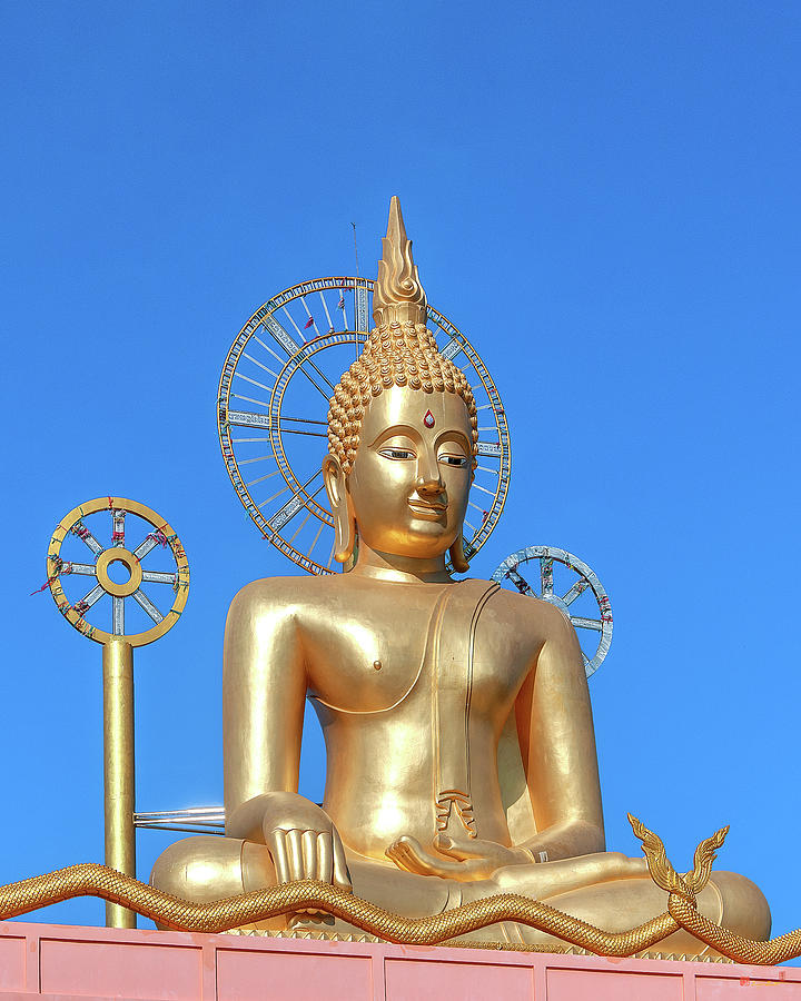 Wat Non Phueng Large Buddha Image DTHSSK0011 by Gerry Gantt