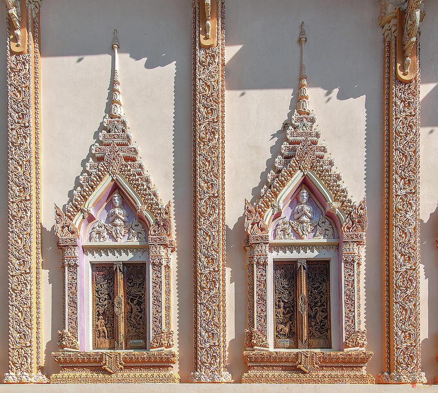 Wat Non Phueng Phra Ubosot Windows DTHSSK0008 by Gerry Gantt
