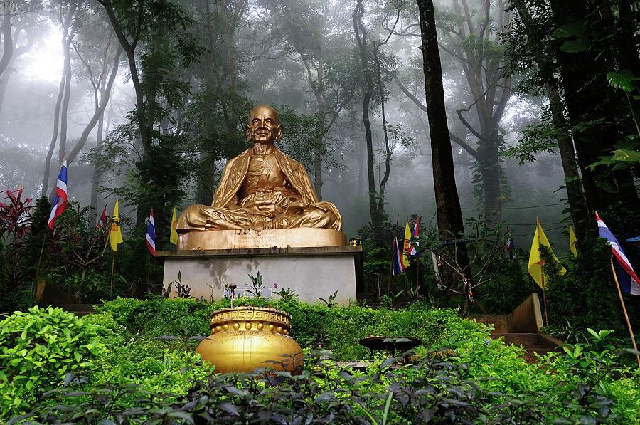 Wat Phrat That Doi Suthep In Chieng Mai Photograph by By Svein Haakon Olaisen