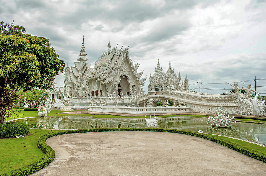 Wat Rong Khun by Peggy Blackwell