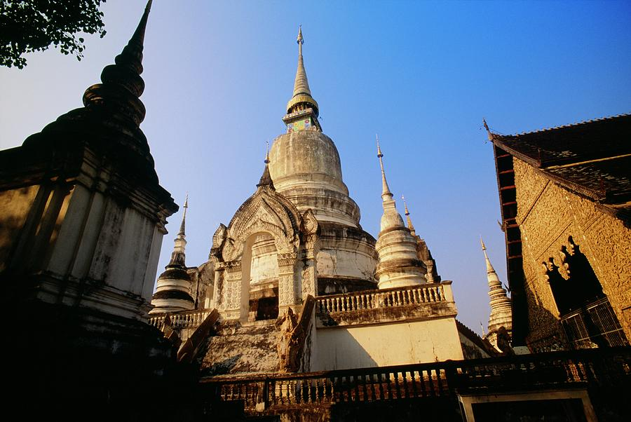 Wat Suan Doc Temple In Chiang Mai Photograph by Design Pics