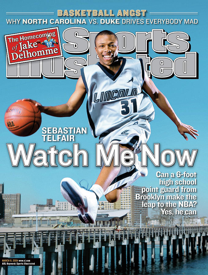 Watch Me Now Sebastian Telfair Sports Illustrated Cover Photograph by Sports Illustrated