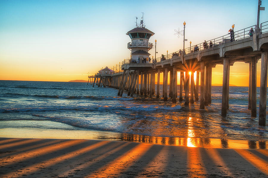 California Photograph - Watching The Sunset by Fernando Margolles