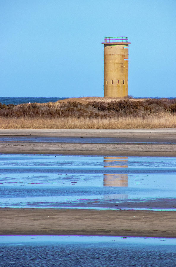 Watchtower on the Delaware Coast by Carolyn Derstine
