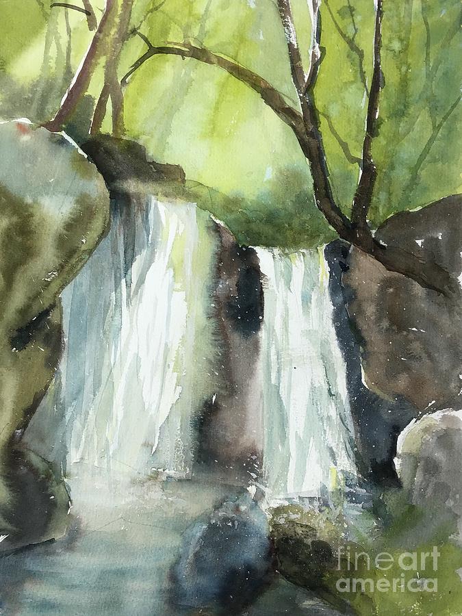 Watcom County Painting - Watcom Falls by Yohana Knobloch
