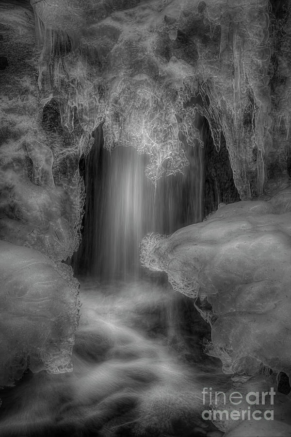 Atmosphere Photograph - Water And Ice 9 by Veikko Suikkanen