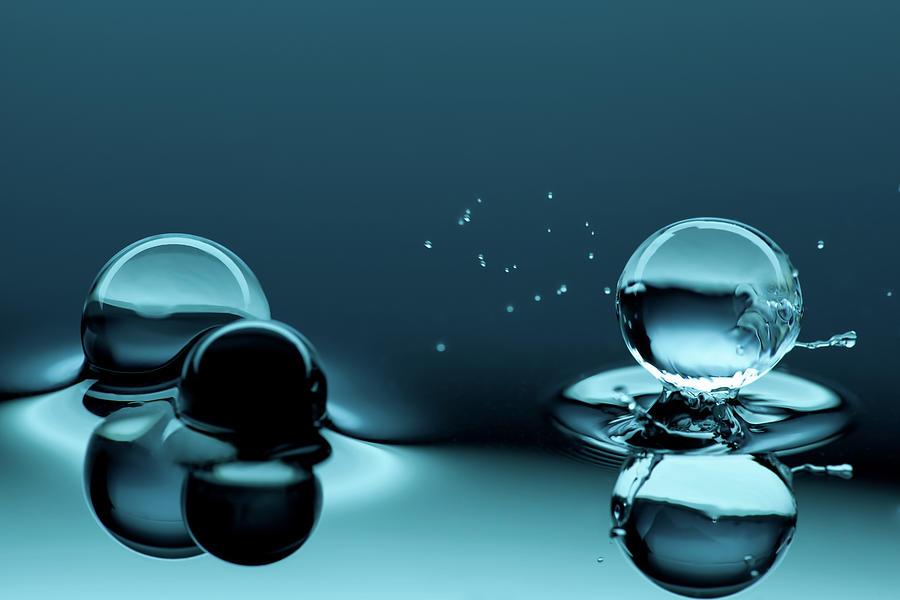 Water Balls Photograph by Alex Koloskov Photography