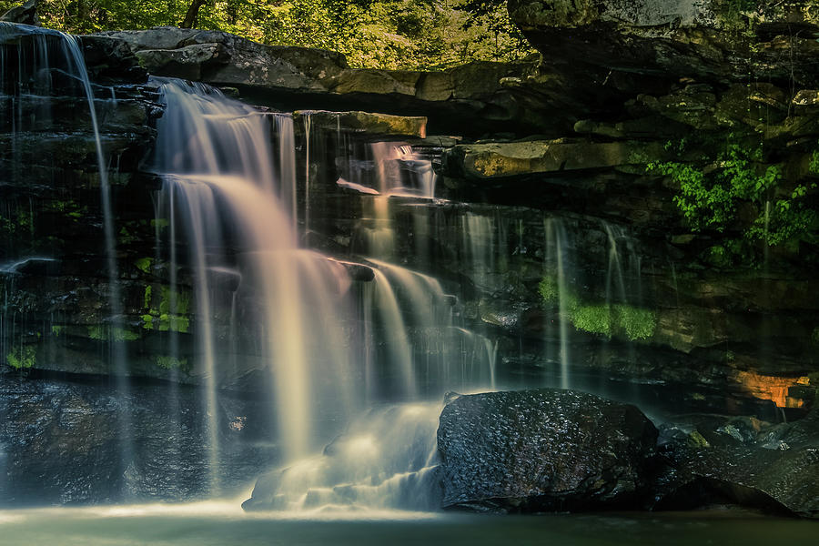 water fall by Rose Benson