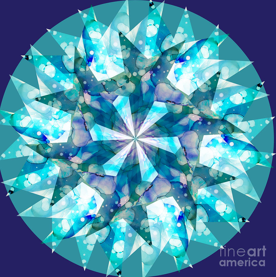 water kaleidoscope by Shelley Myers
