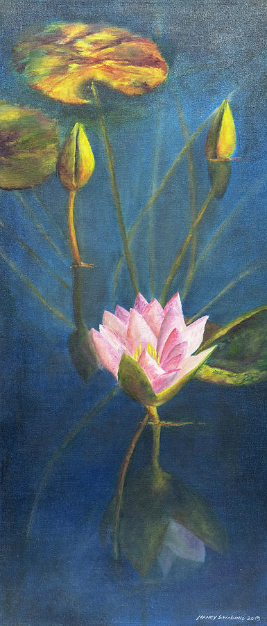 Water Lily by Nancy Strahinic