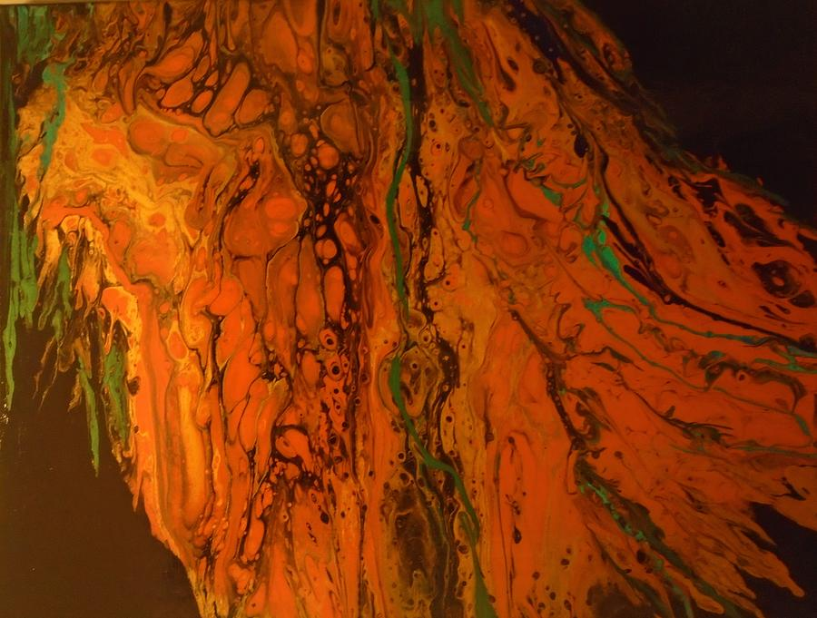 Water On Mars Painting - Water on Mars by Neli Stoyanova