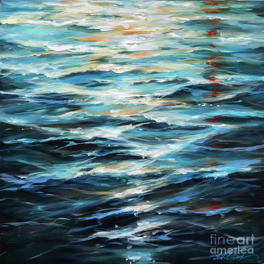 Water Reflections by Linda Olsen