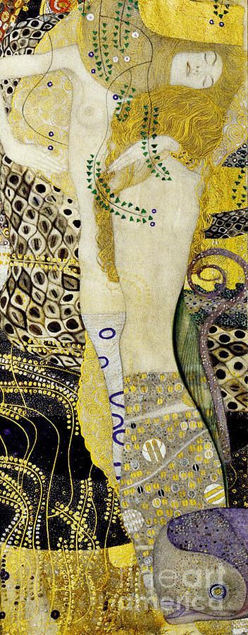 Water Serpents by Klimt