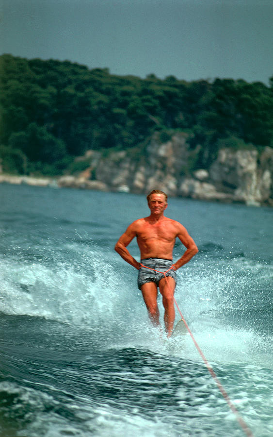 Water-skiing Star Photograph by Slim Aarons