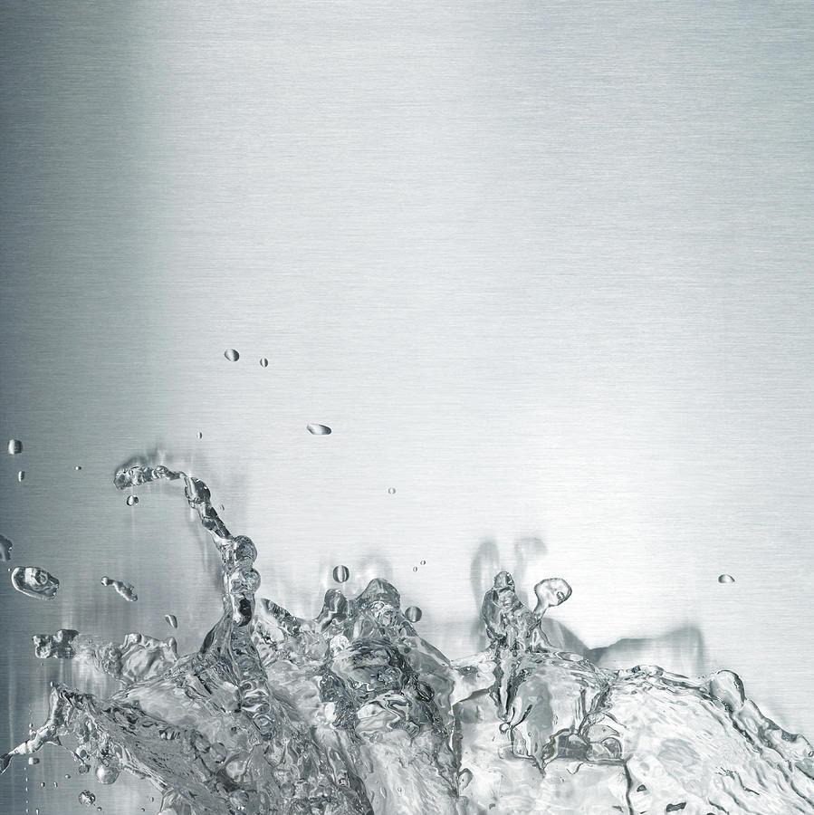 Water Splash Photograph by Plainview