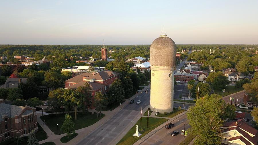 Water Tower In Ypsilanti, Michigan Photograph