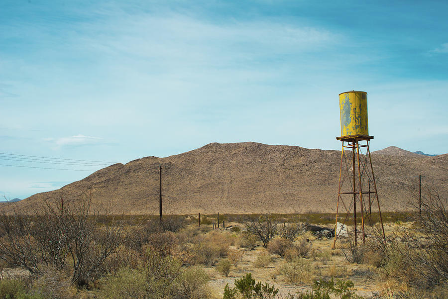 Water Tower West Texas by Sonja Quintero