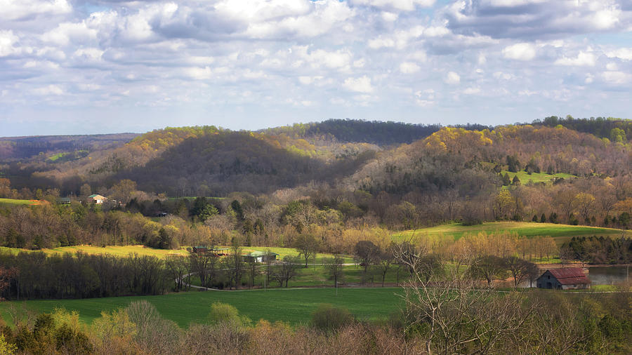 Water Valley Overlook by Susan Rissi Tregoning