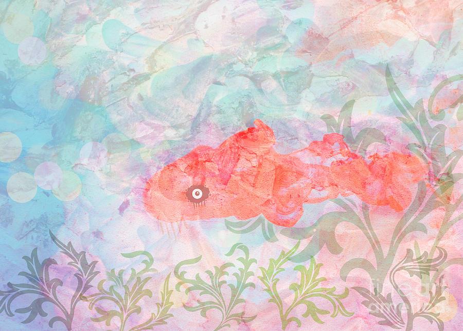 Watercolor Aquarium Digital Art