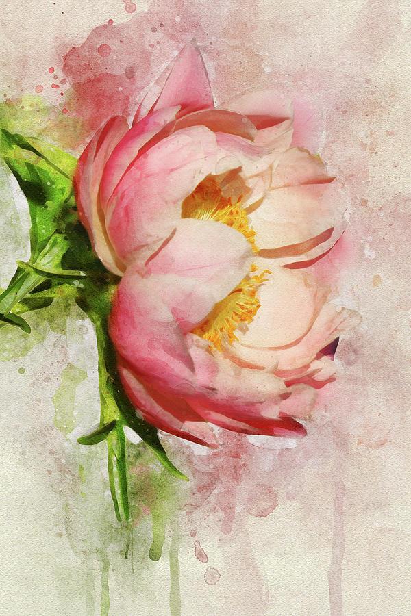 Watercolor Fantasy by Leda Robertson