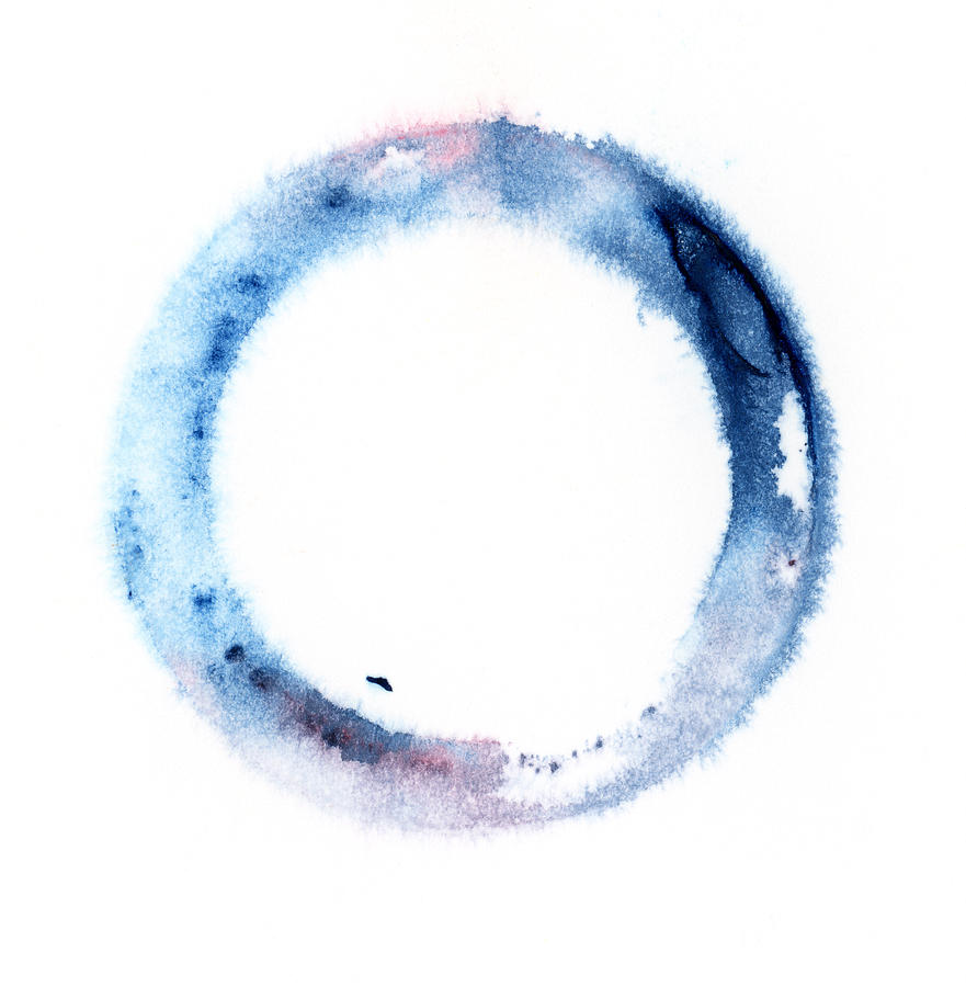 Watercolor Ring Photograph by Alenchi