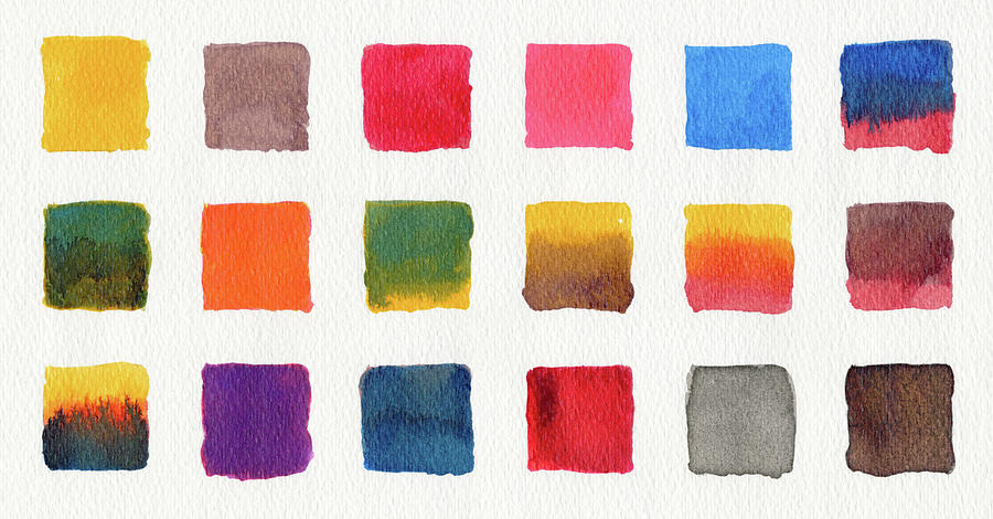 Watercolours On Paper Digital Art by Mustafahacalaki