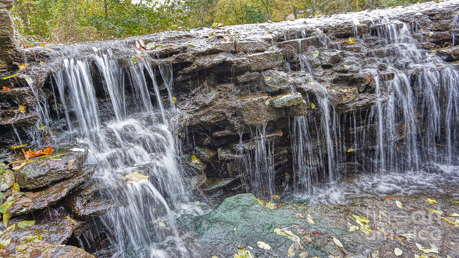 Waterfall @ Sharon Woods by Jeremy Lankford