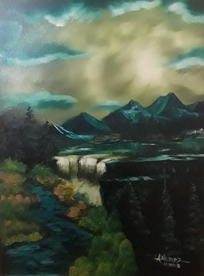WaterFall Dream by Anthony Nunez