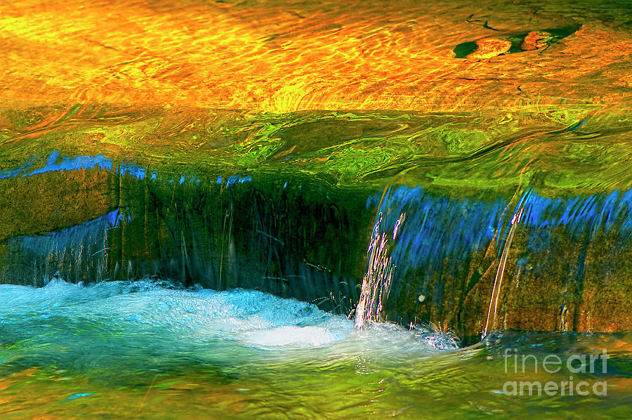Waterfall HDR by Sharon Talson