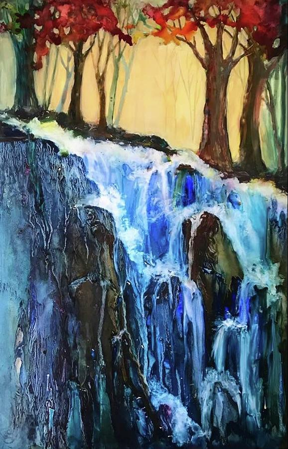 Waterfall by Marilyn Jacobson