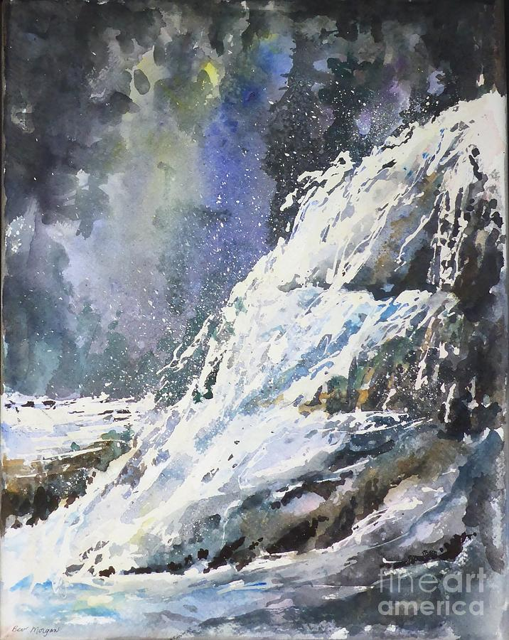 Waterfall Moment by Bev Morgan