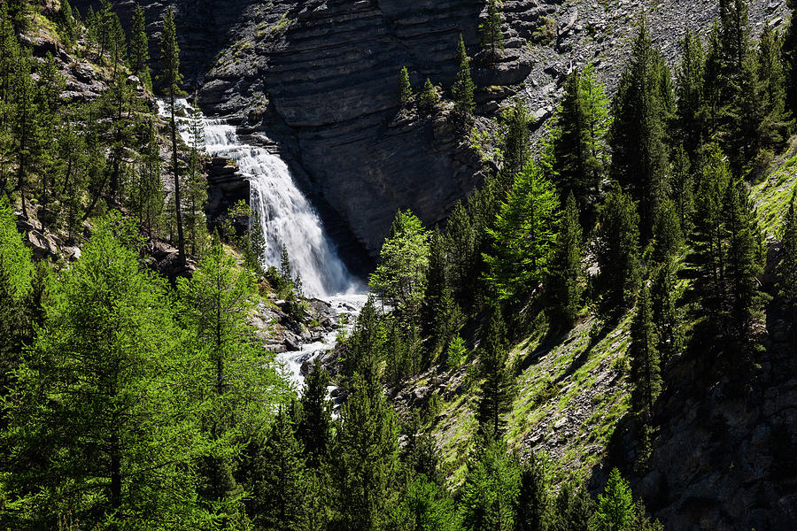 Waterfall of Le Pis by Paul MAURICE