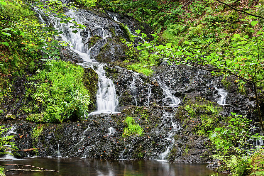 Waterfall of Retournemer - 2 by Paul MAURICE