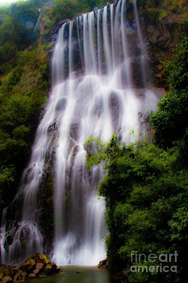 Waterfall Mixed Media
