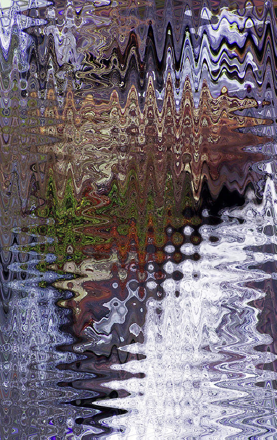 WATERFALL WARRIOR WAVE by Jennifer Robin