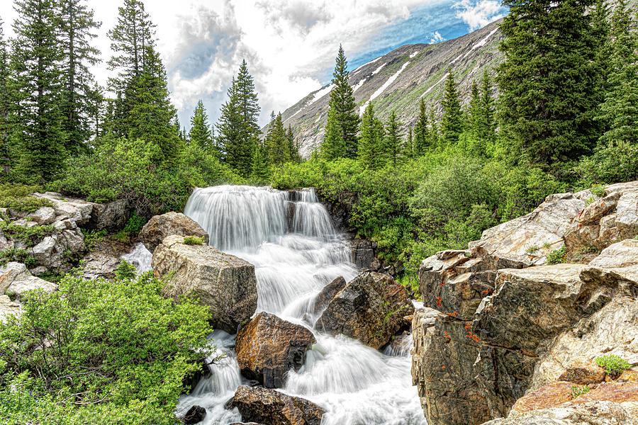 Waterfalls Along Monte Cristo Creek by Stephen Johnson