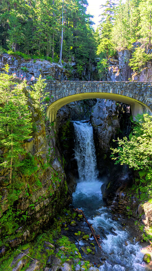 Waterfalls in Washington State by Cathy Anderson