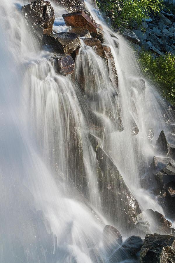 Waterfalls, Lake Tahoe, Usa Photograph by Stuart Dee