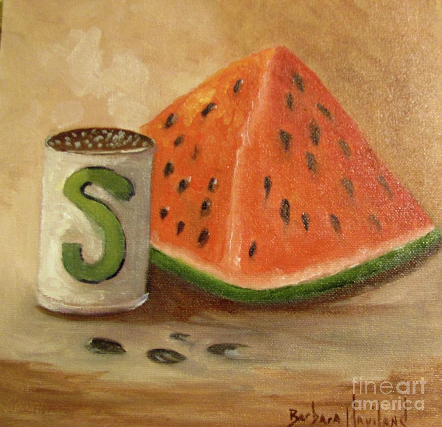 Watermelon and Salt by Barbara Haviland